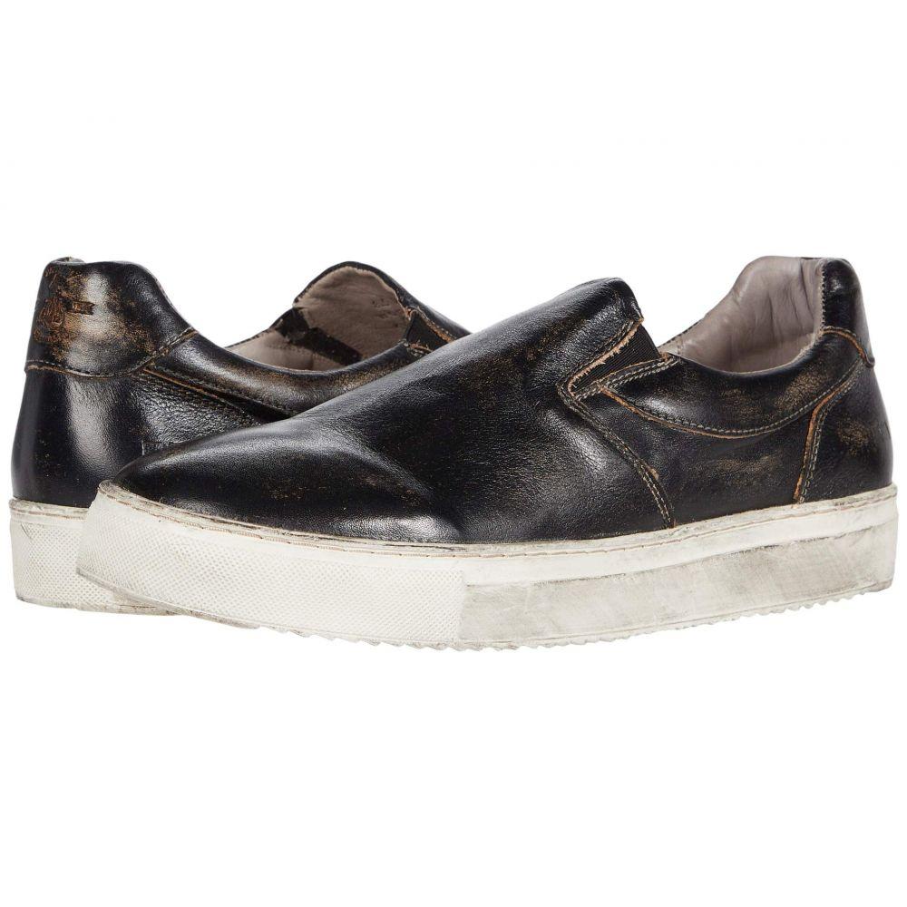 ベッドステュ Bed Stu メンズ スニーカー シューズ・靴【Harry】Black Handwash
