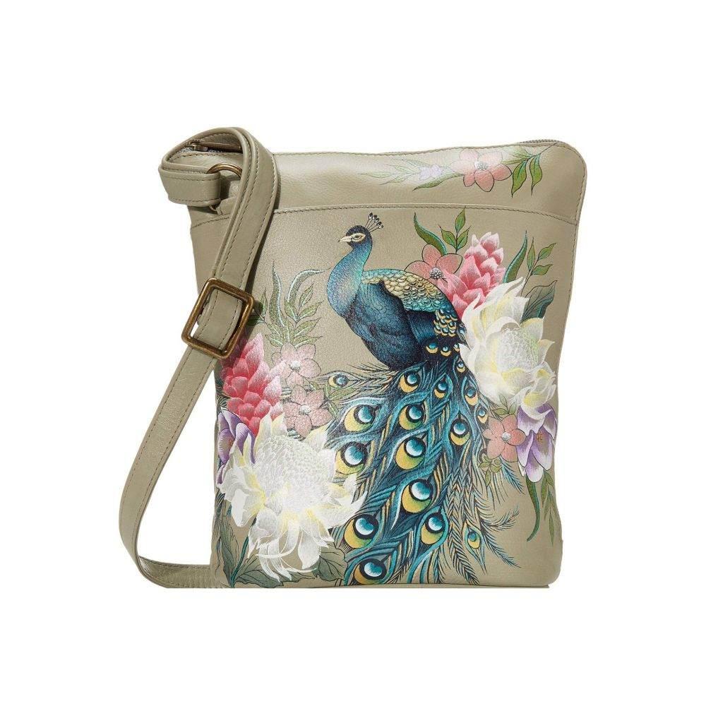 アヌシュカ Anuschka Handbags レディース ショルダーバッグ バッグ【Two Sided Zip Travel Organizer 493】Regal Peacock