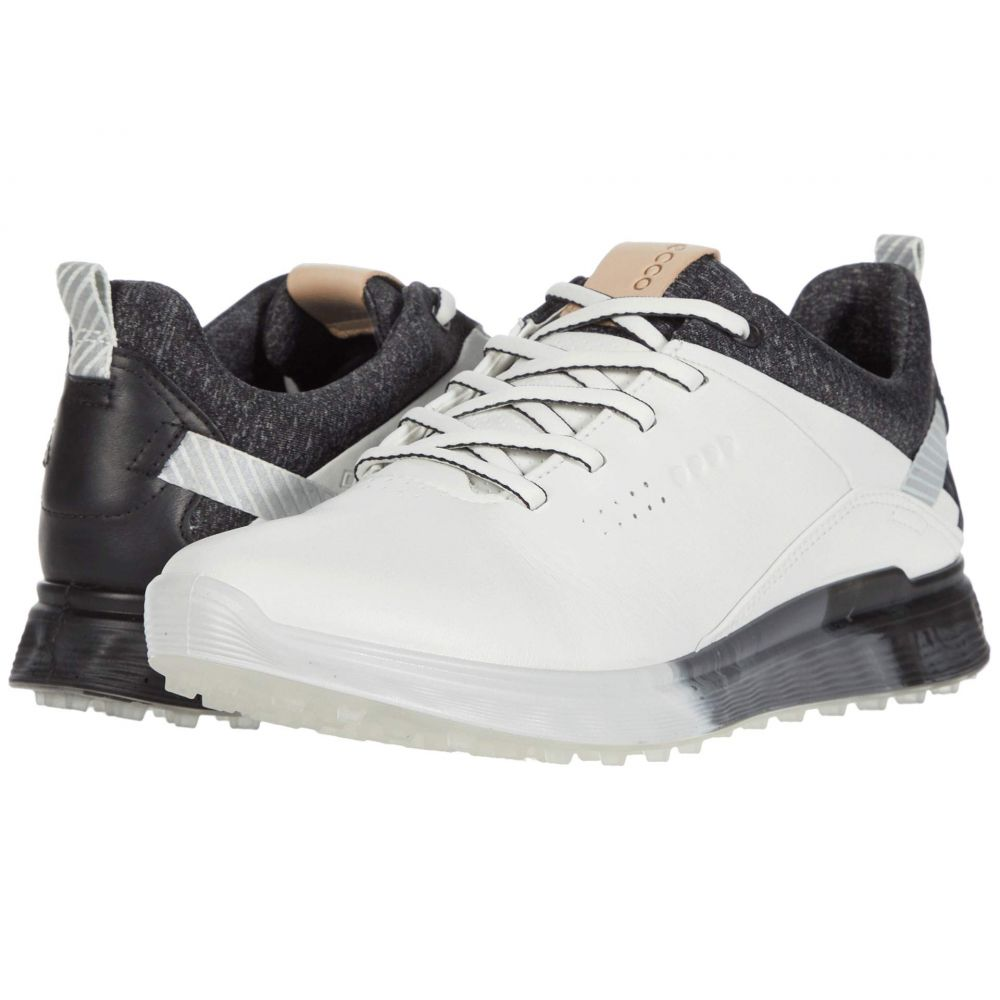 エコー ECCO Golf レディース ゴルフ シューズ・靴【S-Three GORE-TEX】White