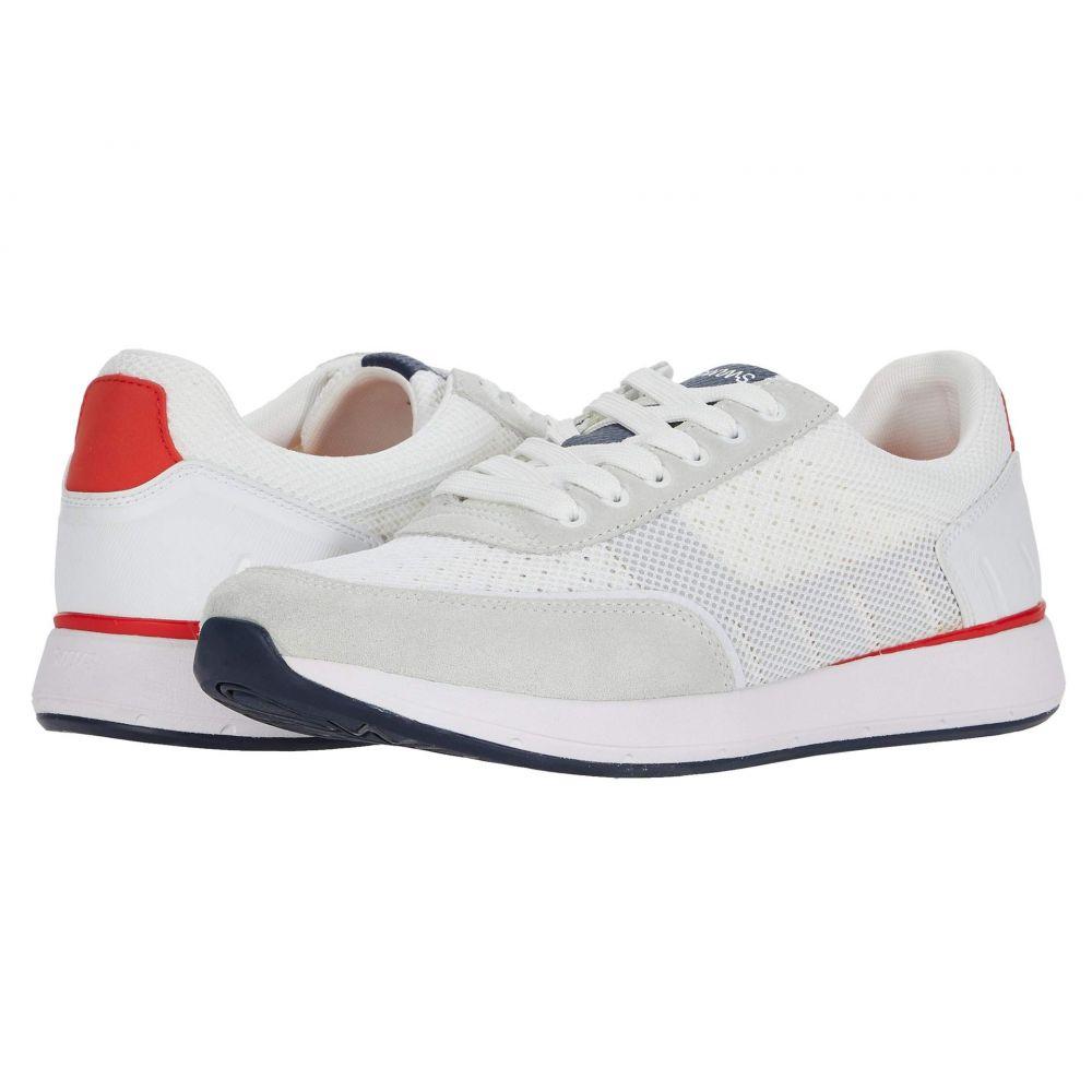 スウィムス SWIMS メンズ スニーカー シューズ・靴【Breeze Wave Athletic】White/Navy/Glacier Gray