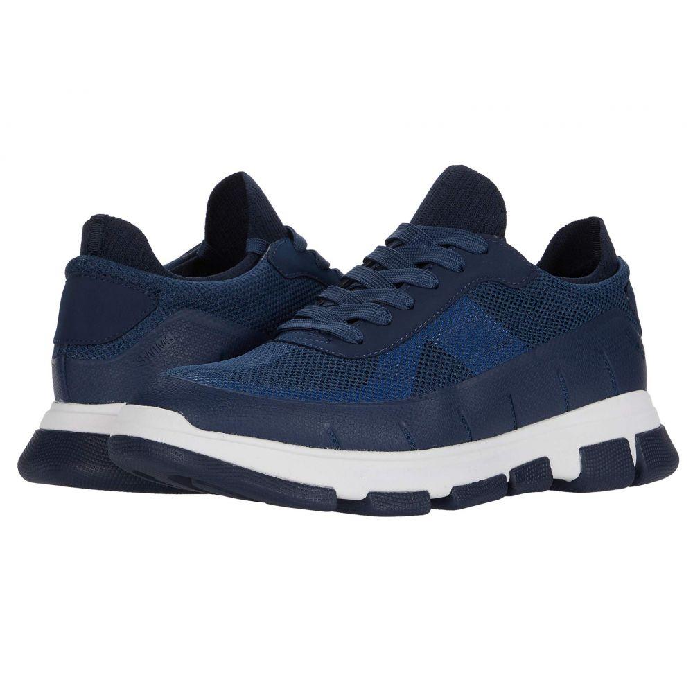 スウィムス SWIMS メンズ スニーカー シューズ・靴【City Hiker Sneaker】Navy/White