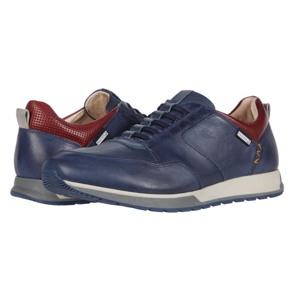 ピコリノス Pikolinos メンズ スニーカー シューズ・靴【Cambil M5N-6256】Blue