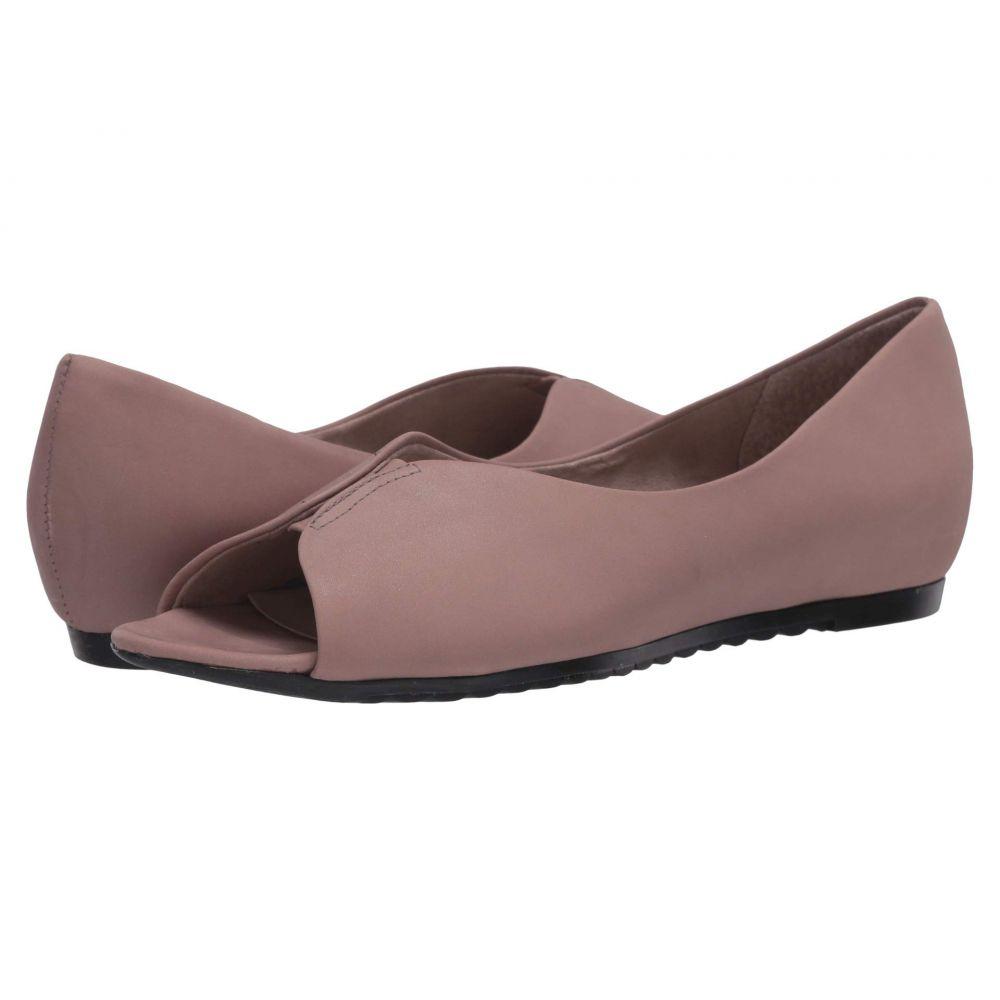 マンロー Munro レディース スリッポン・フラット シューズ・靴【Francesca】Taupe Leather