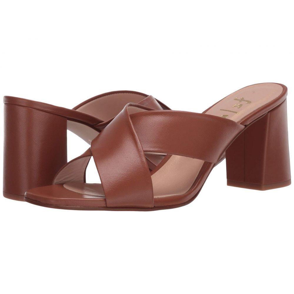 フレンチソール French Sole レディース サンダル・ミュール シューズ・靴【Eve】Cognac Napa