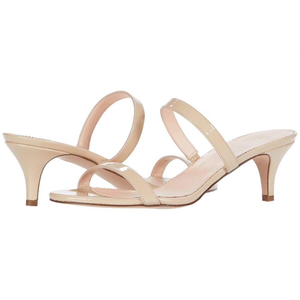 ジェイクルー J.Crew レディース サンダル・ミュール キトゥンヒール シューズ・靴【Patent Multi Strap Kitten Heel Sandal】Riviera Sand