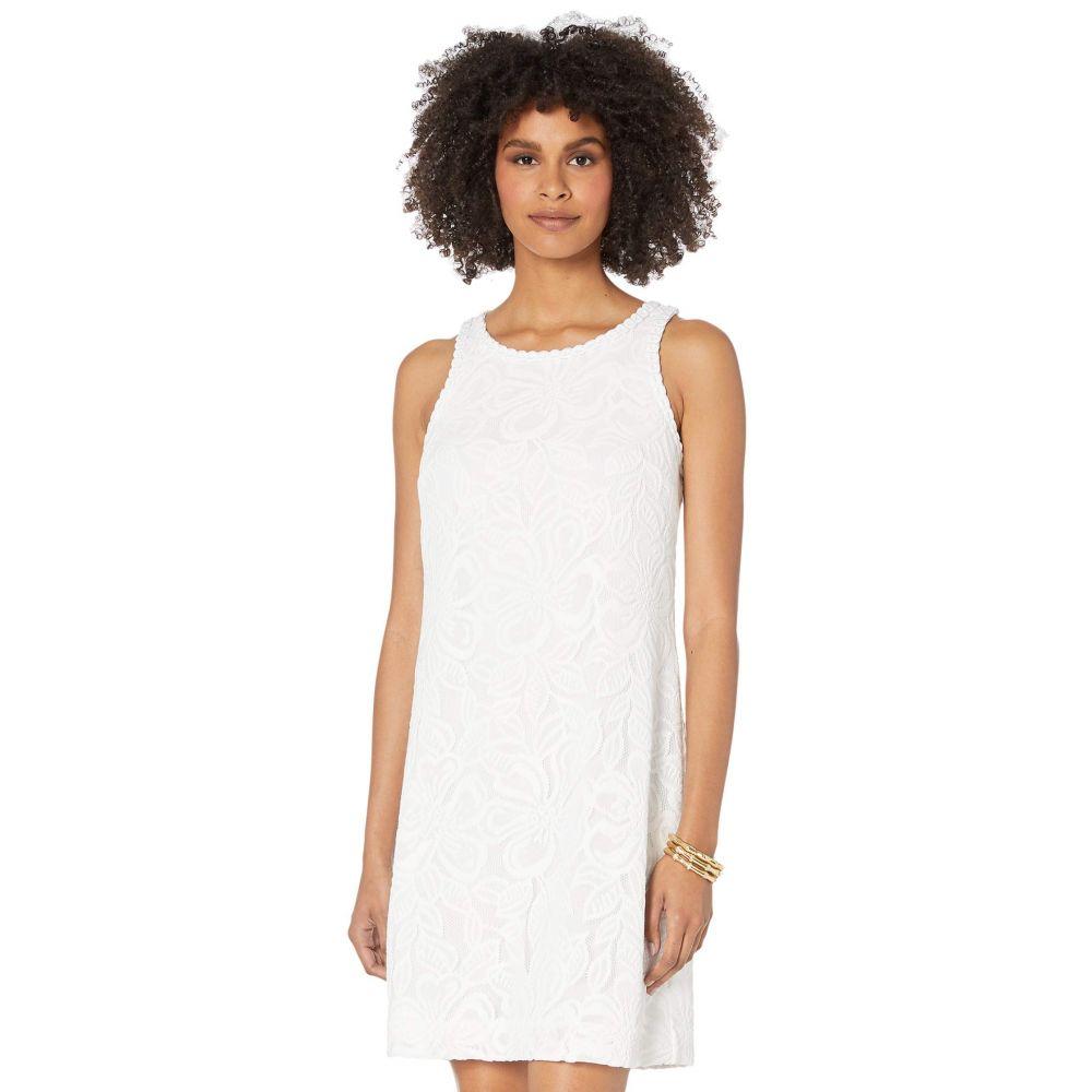 リリーピュリッツァー Lilly Pulitzer レディース ワンピース シフトドレス ワンピース・ドレス【Marquette Shift Dress】Resort White Wildflower Stripe Lace