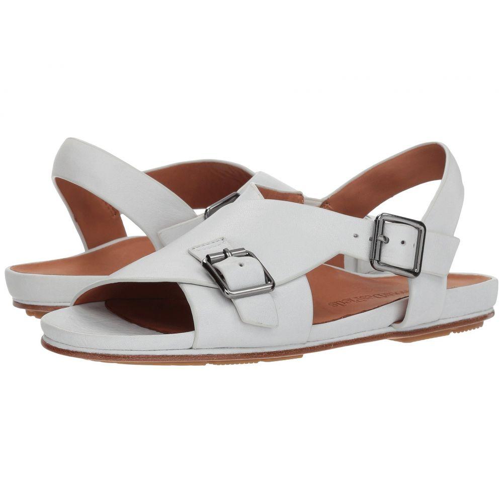 ラモールドピード L'Amour Des Pieds レディース サンダル・ミュール シューズ・靴【Dordogne】White Lamba