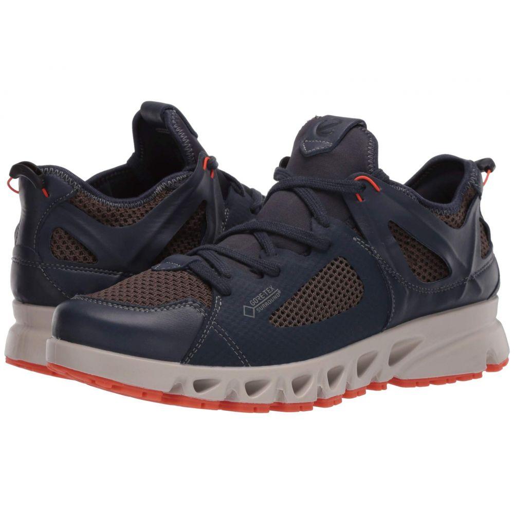 エコー ECCO Sport メンズ スニーカー シューズ・靴【Multi-Vent Air GORE-TEX】Marine/Dark Clay/Pumpkin