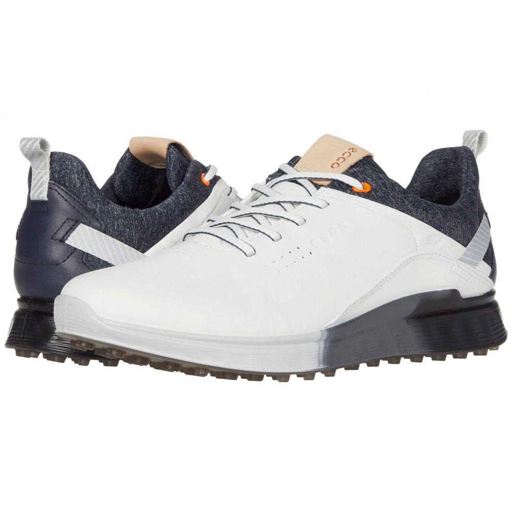 エコー ECCO Golf メンズ ゴルフ シューズ・靴【S-Three GORE-TEX】White