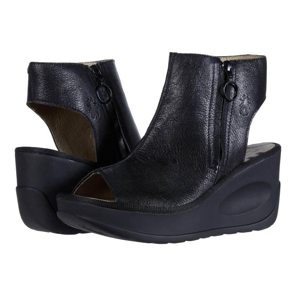 フライロンドン FLY LONDON レディース サンダル・ミュール シューズ・靴【JAPE107FLY】Black Mousse