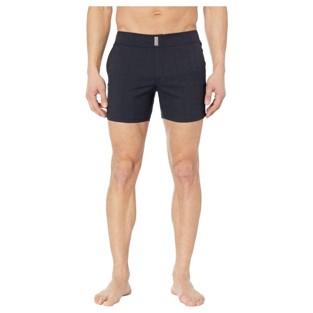 ヴィルブレクイン Vilebrequin メンズ 海パン 水着・ビーチウェア【Minise Jacquard Unis Stretch Swim Trunks】Black