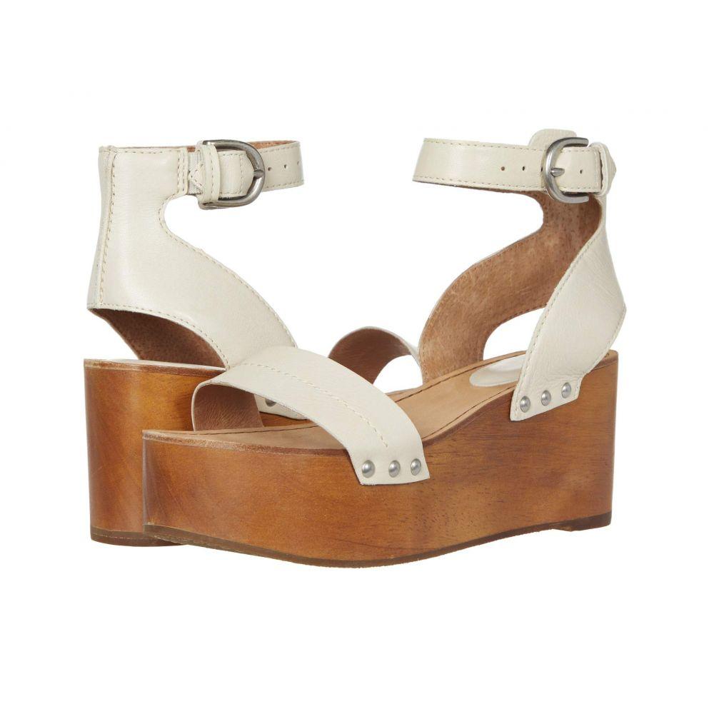 フライ Frye レディース サンダル・ミュール シューズ・靴【Alva Flatform Sandal】Off-White