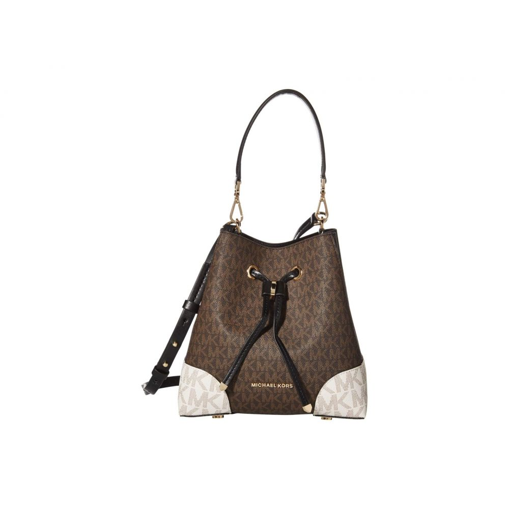 マイケル コース MICHAEL Michael Kors レディース ショルダーバッグ バッグ【Mercer Gallery Small Convertible Bucket Shoulder】Brown Multi