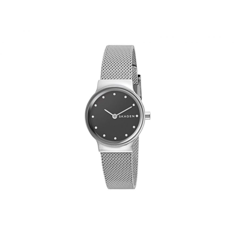 スカーゲン Skagen レディース 腕時計 【Freja Two-Hand Stainless Steel Mesh Watch】
