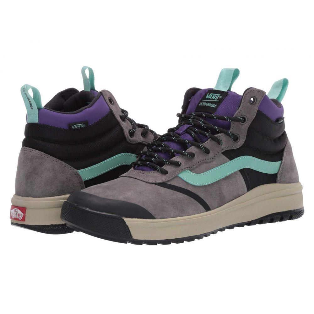 ヴァンズ Vans レディース スニーカー シューズ・靴【UltraRange Hi DL MTE】Pewter/Eucalyptus
