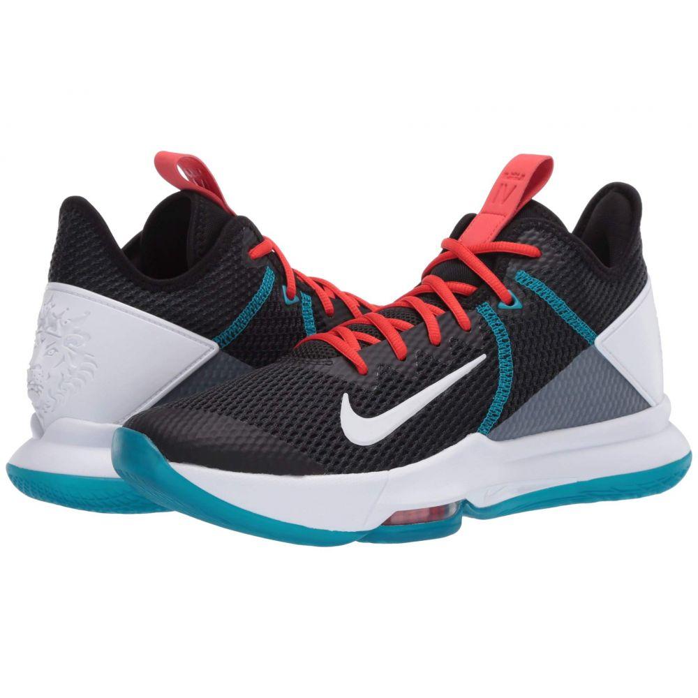 ナイキ Nike メンズ バスケットボール シューズ・靴【Lebron Witness IV】Black/White/Chile Red/Glass Blue