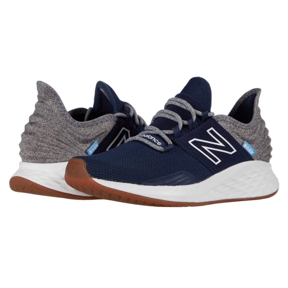 ニューバランス New Balance メンズ ランニング・ウォーキング Tシャツ シューズ・靴【Fresh Foam Roav Tee Shirt】Natural Indigo/Light Aluminum