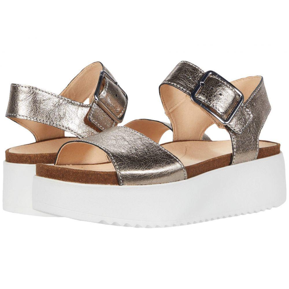 クラークス Clarks レディース サンダル・ミュール シューズ・靴【Botanic Strap】Stone Metallic