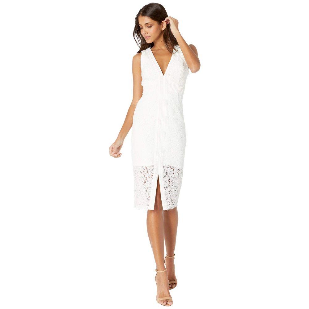 バルドー Bardot レディース ワンピース ワンピース・ドレス【Halter Lace Dress】Ivory