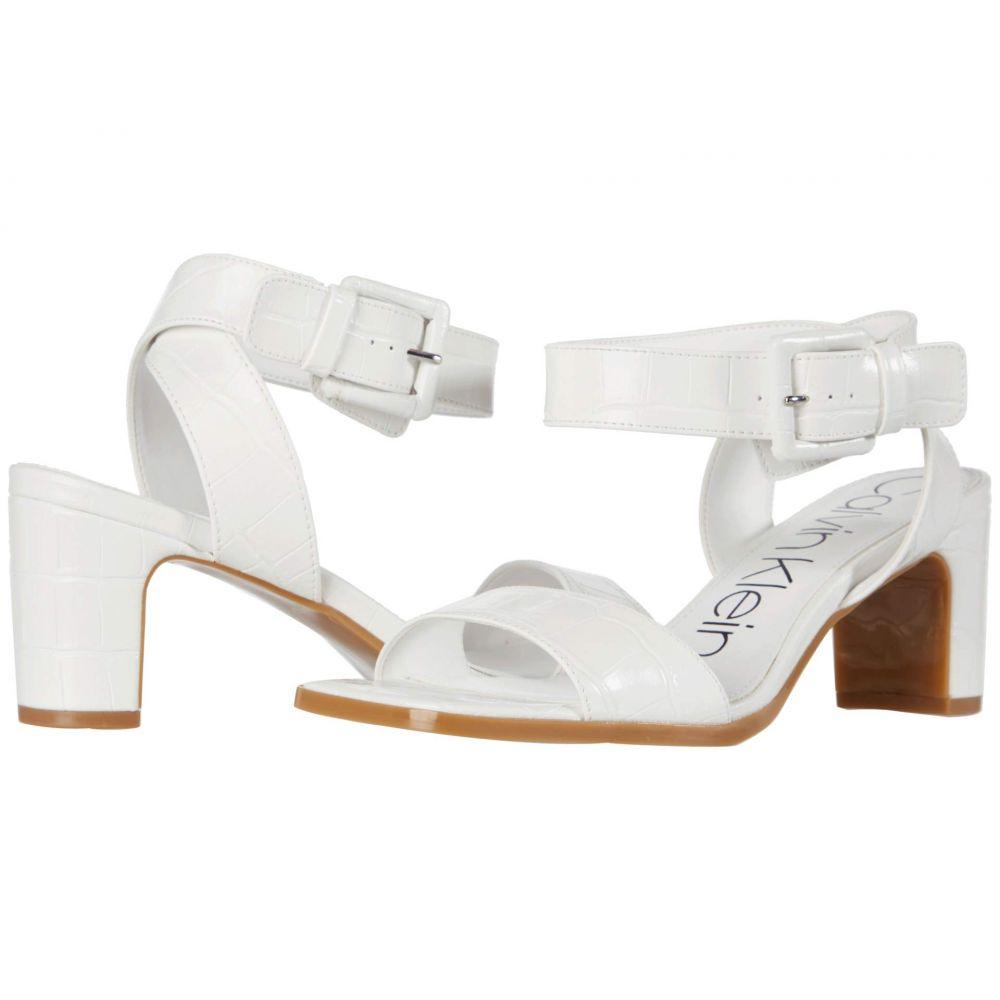 カルバンクライン Calvin Klein レディース サンダル・ミュール シューズ・靴【Damita】White