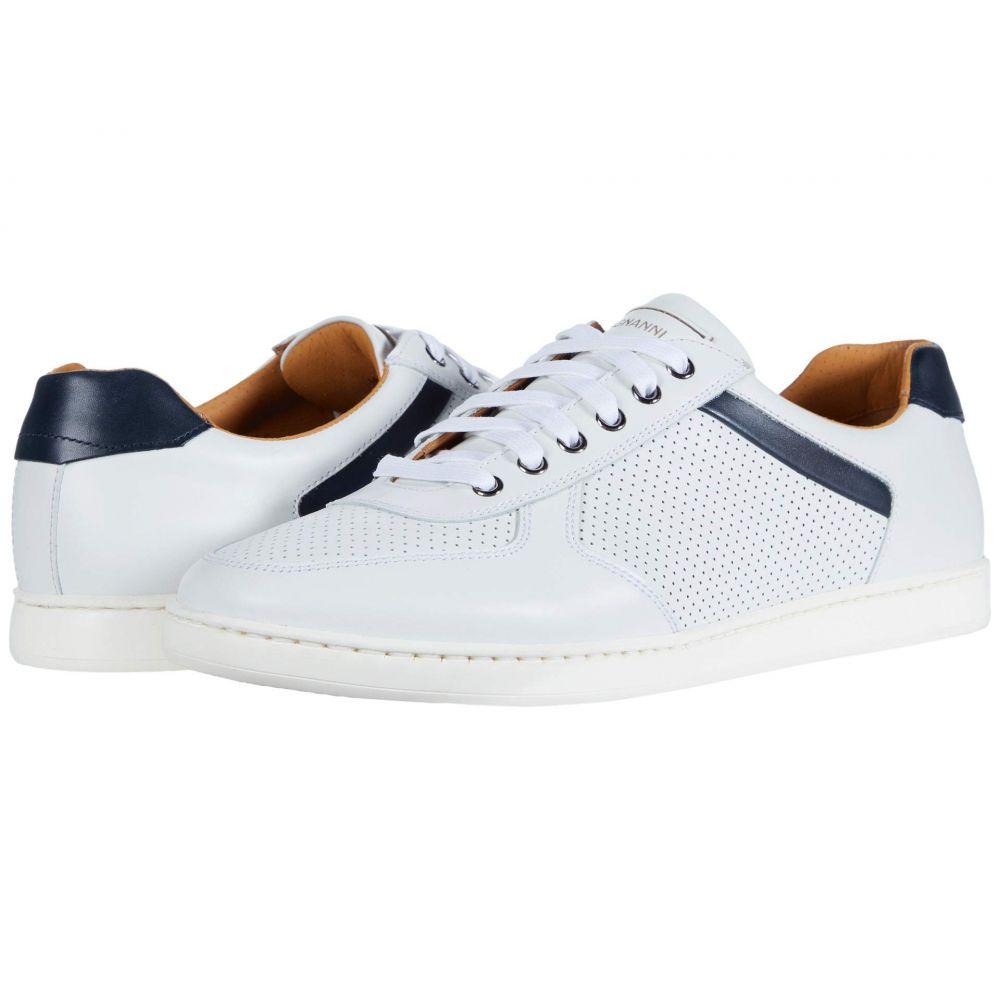 マグナーニ Magnanni メンズ スニーカー シューズ・靴【Echo Lo Perf】White/Navy