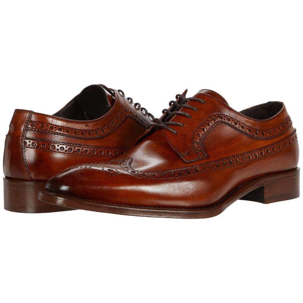 ジョンストンアンドマーフィー メンズ シューズ 人気激安 新生活 靴 革靴 ビジネスシューズ Caramel Wing サイズ交換無料 ウイングチップ Reece JM Tip Collection