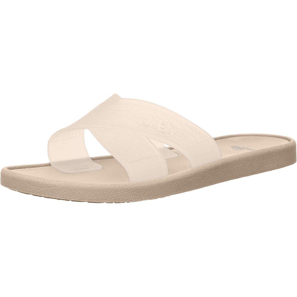 サヌーク Sanuk レディース サンダル・ミュール シューズ・靴【Beachwalker Slide TX】Natural