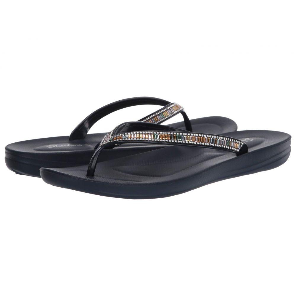 スケッチャーズ SKECHERS レディース ビーチサンダル シューズ・靴【Bungalow - Poolside Summer】Navy Multi