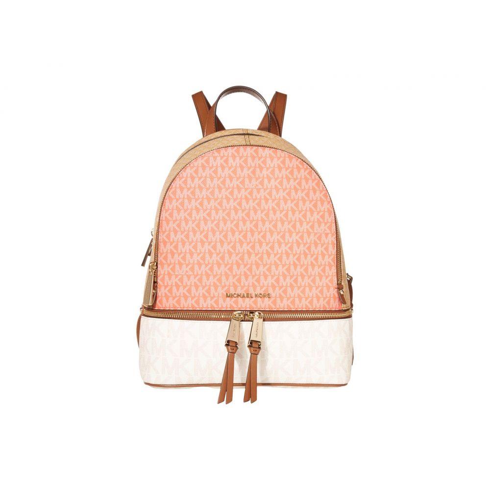 マイケル コース MICHAEL Michael Kors レディース バックパック・リュック バッグ【Rhea Zip Medium Backpack】Pink Grapefruit Multi
