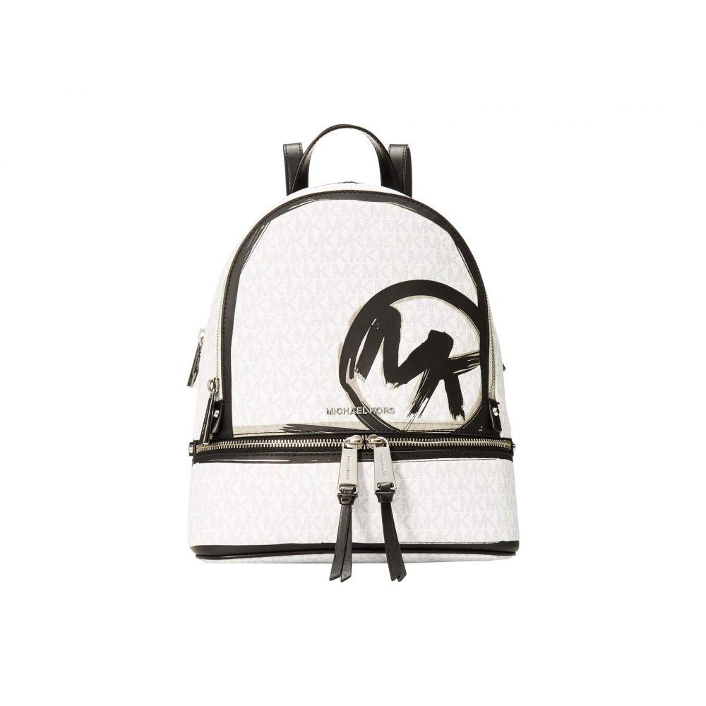 マイケル コース MICHAEL Michael Kors レディース バックパック・リュック バッグ【Rhea Zip Medium Backpack】Bright White Multi