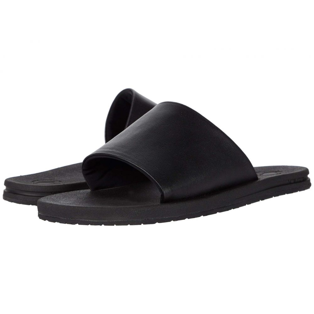 ボルコム Volcom レディース サンダル・ミュール シューズ・靴【E-Cliner Slide】Black Out