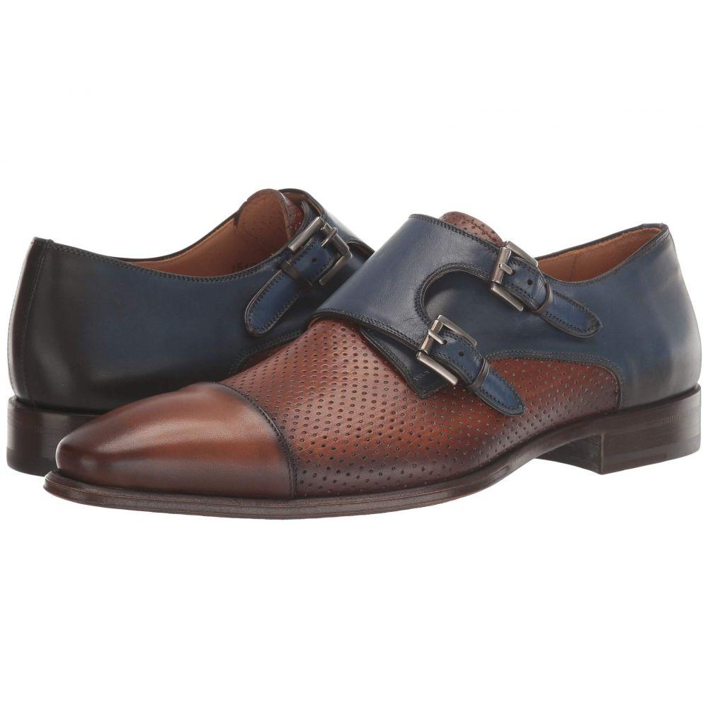 メツラン Mezlan メンズ 革靴・ビジネスシューズ シューズ・靴【Saber】Tan/Sol/Medium Blue