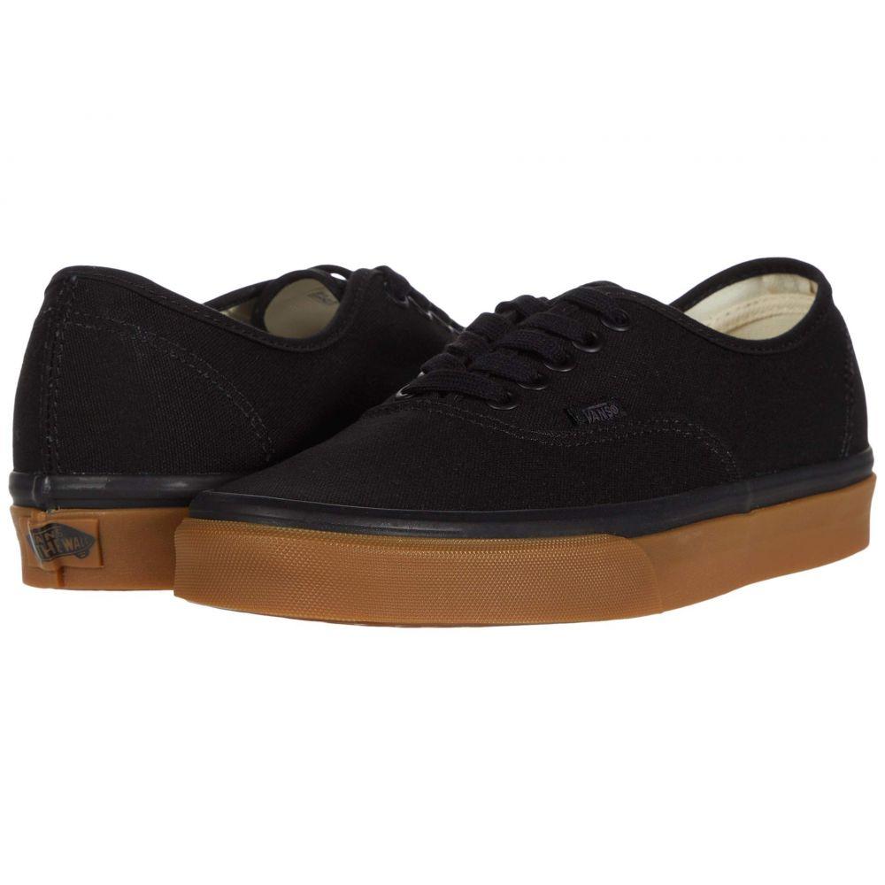 ヴァンズ Vans レディース スニーカー シューズ・靴【Authentic(TM)】Black/Gum