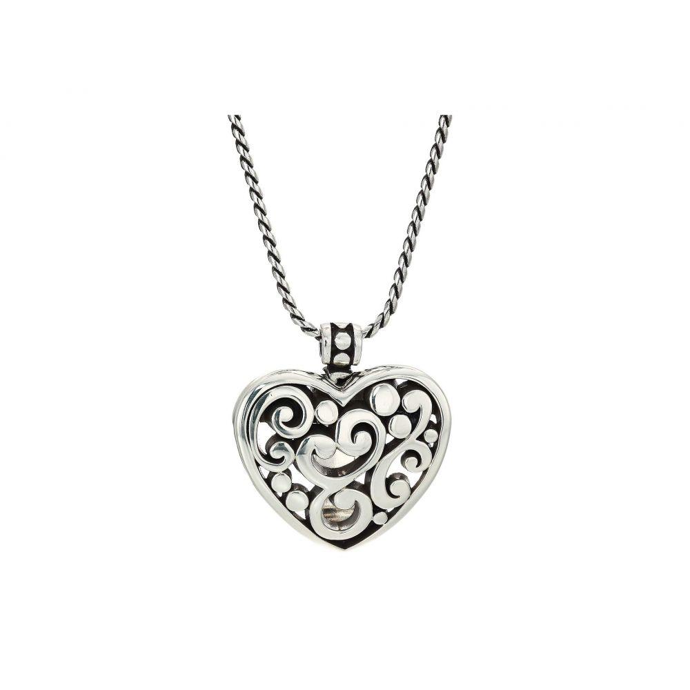 ブライトン Brighton レディース ネックレス ハート ジュエリー・アクセサリー【Contempo Heart Badge Clip Necklace】