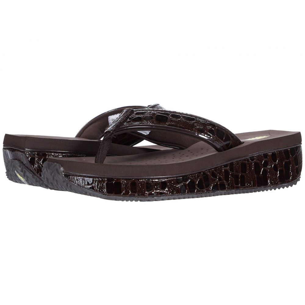 ボラティル VOLATILE レディース ビーチサンダル シューズ・靴【Aileenie】Dark Brown