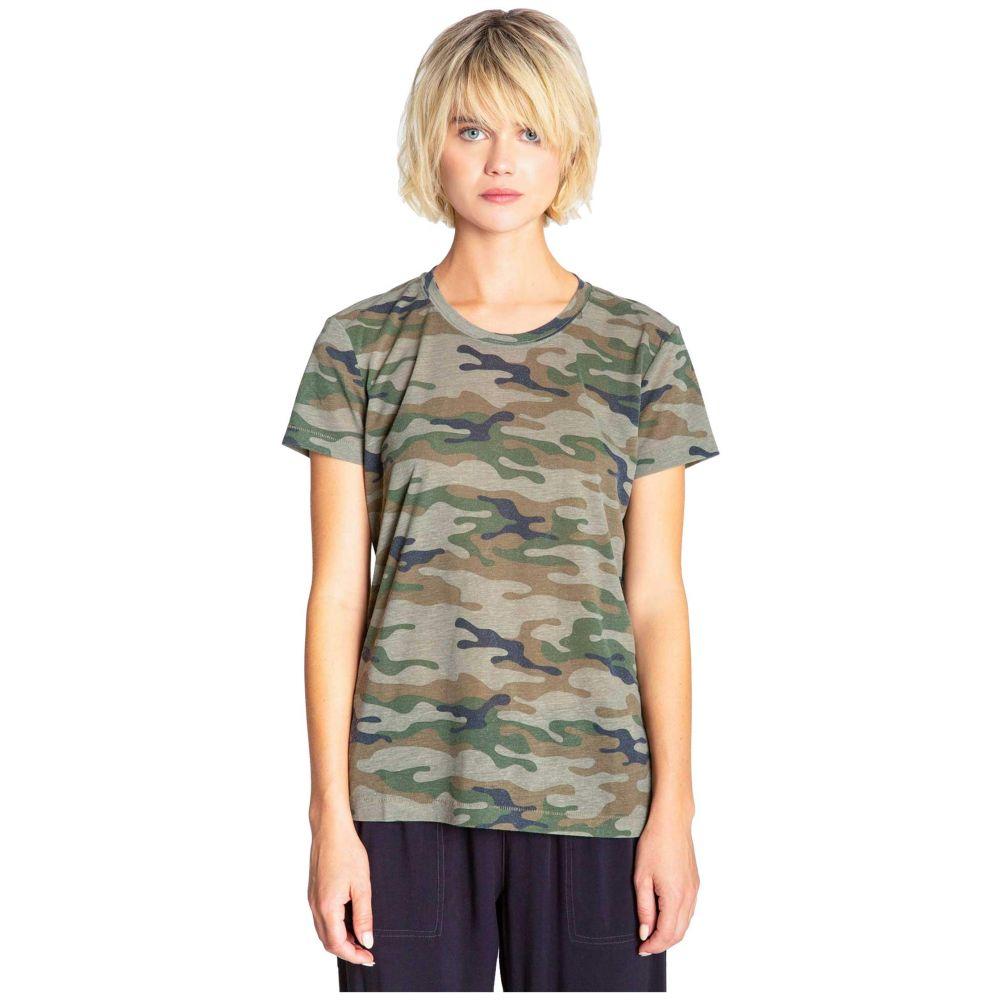 ピー ジェイ サルベージ P.J. Salvage レディース Tシャツ トップス【Weekend Warrior Army Tee】Olive