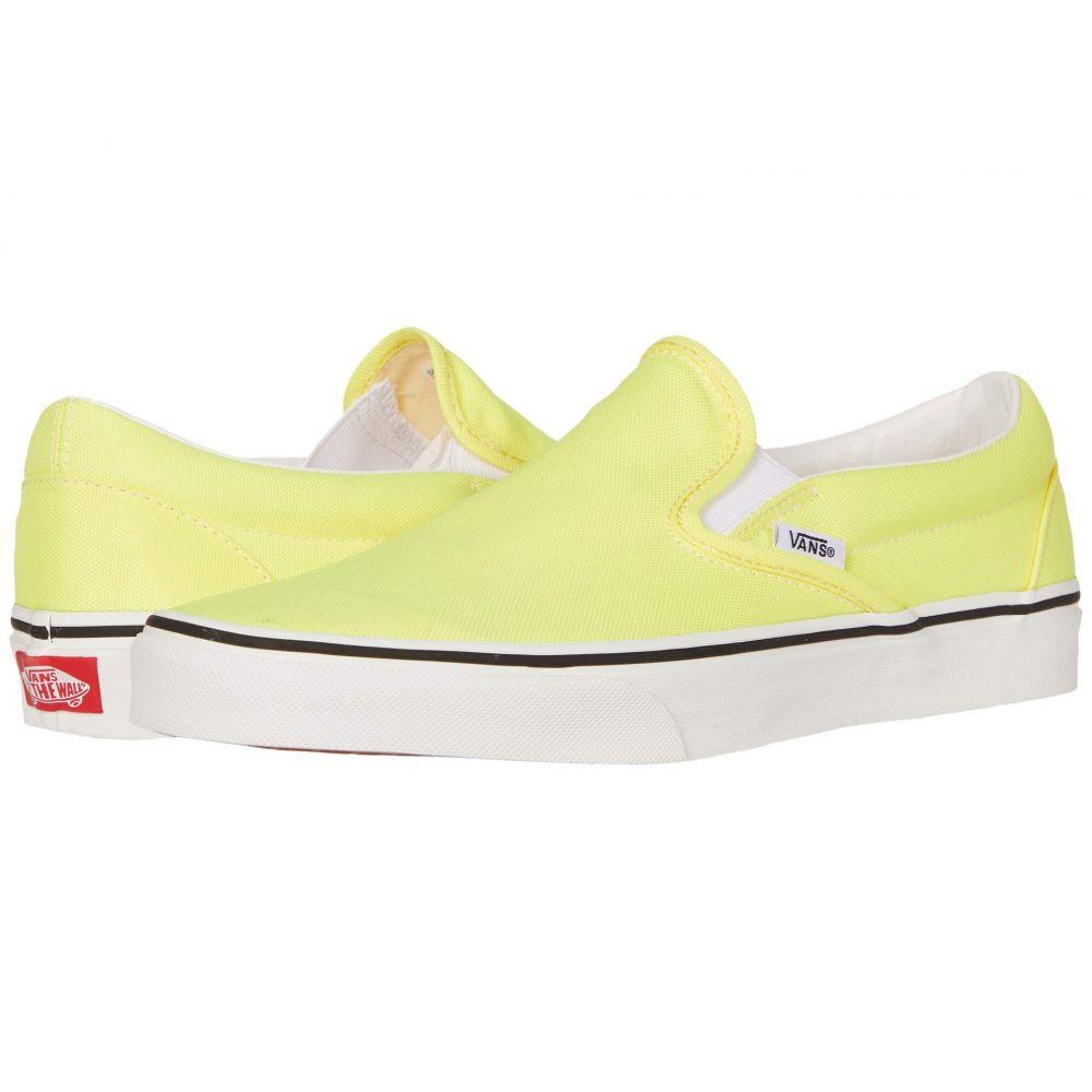 ヴァンズ Vans レディース スニーカー シューズ・靴【Classic Slip-On(TM)】Lemon Tonic/True White