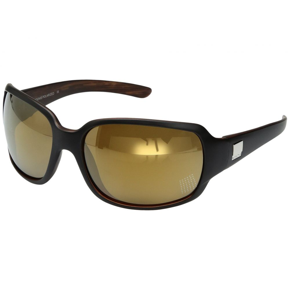 サンクラウド SunCloud Polarized Optics レディース メガネ・サングラス 【Cookie】Matte Black Backpaint/Polarized Sienna Mirror Polycarbonate Lens