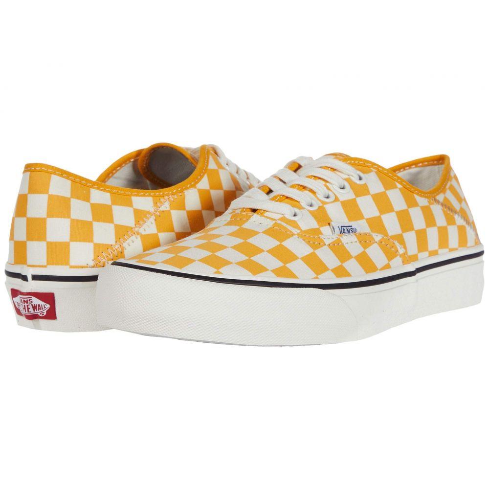 ヴァンズ Vans レディース スニーカー シューズ・靴【Authentic SF】Cadmium Yellow/Marshmallow