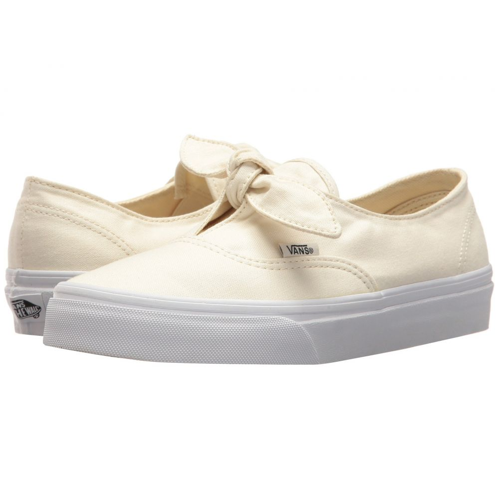 ヴァンズ Vans レディース スニーカー シューズ・靴【Authentic Knotted】Marshmallow