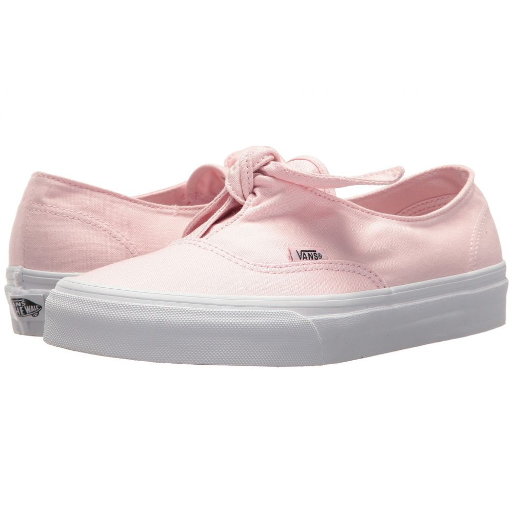 ヴァンズ Vans レディース スニーカー シューズ・靴【Authentic Knotted】Chalk Pink/True White