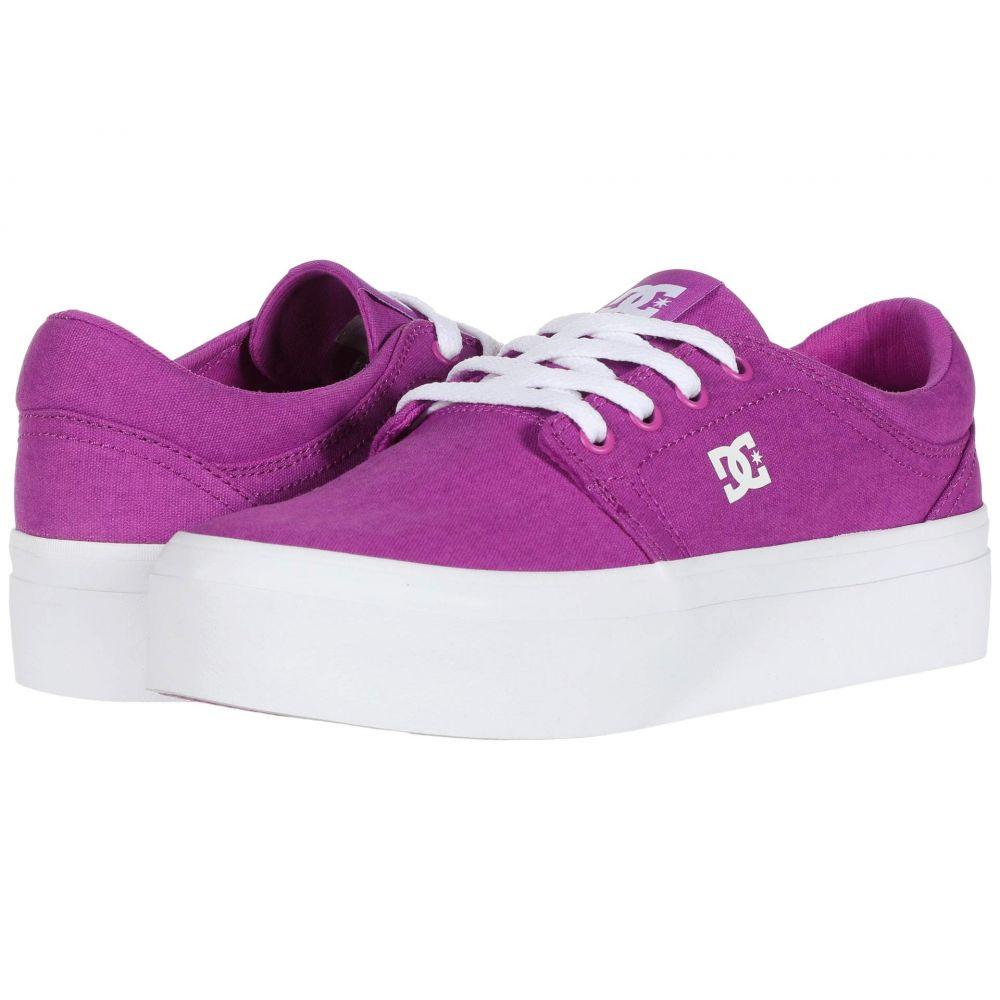 ディーシー DC レディース スニーカー シューズ・靴【Trase Platform TX】Purple
