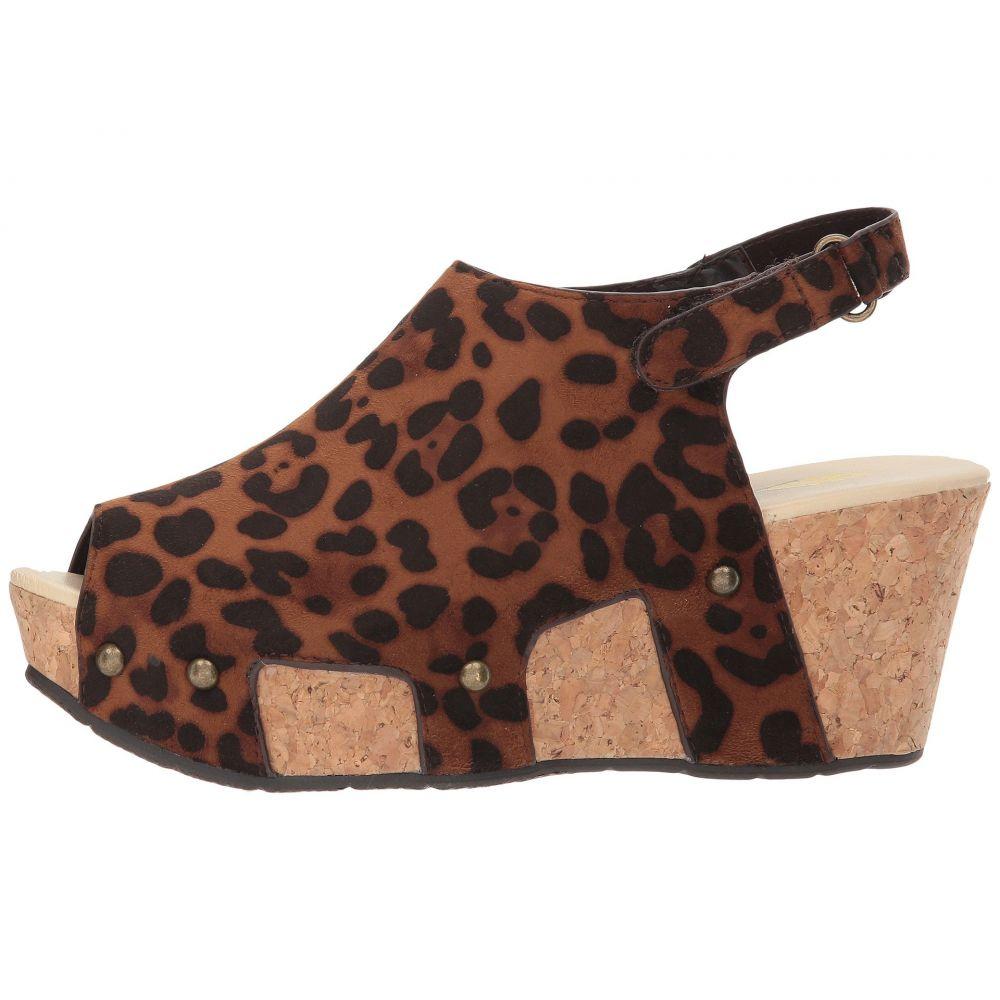 ボラティル VOLATILE レディース サンダル・ミュール シューズ・靴 Daiquiri Brown LeopardwkXnOP80