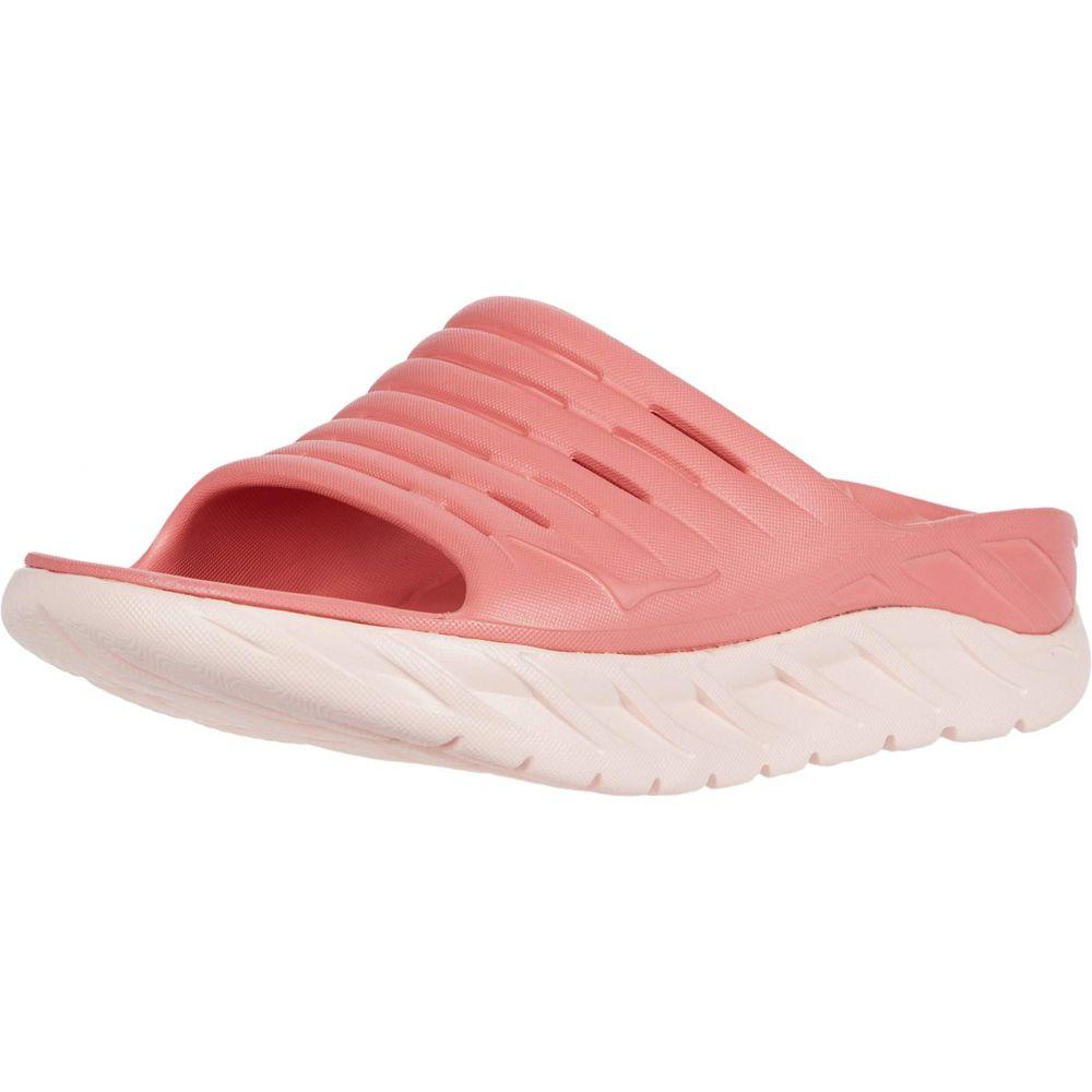 ホカ オネオネ Hoka One One レディース サンダル・ミュール シューズ・靴【Ora Recovery Slide 2】Lantana/Pink Salt