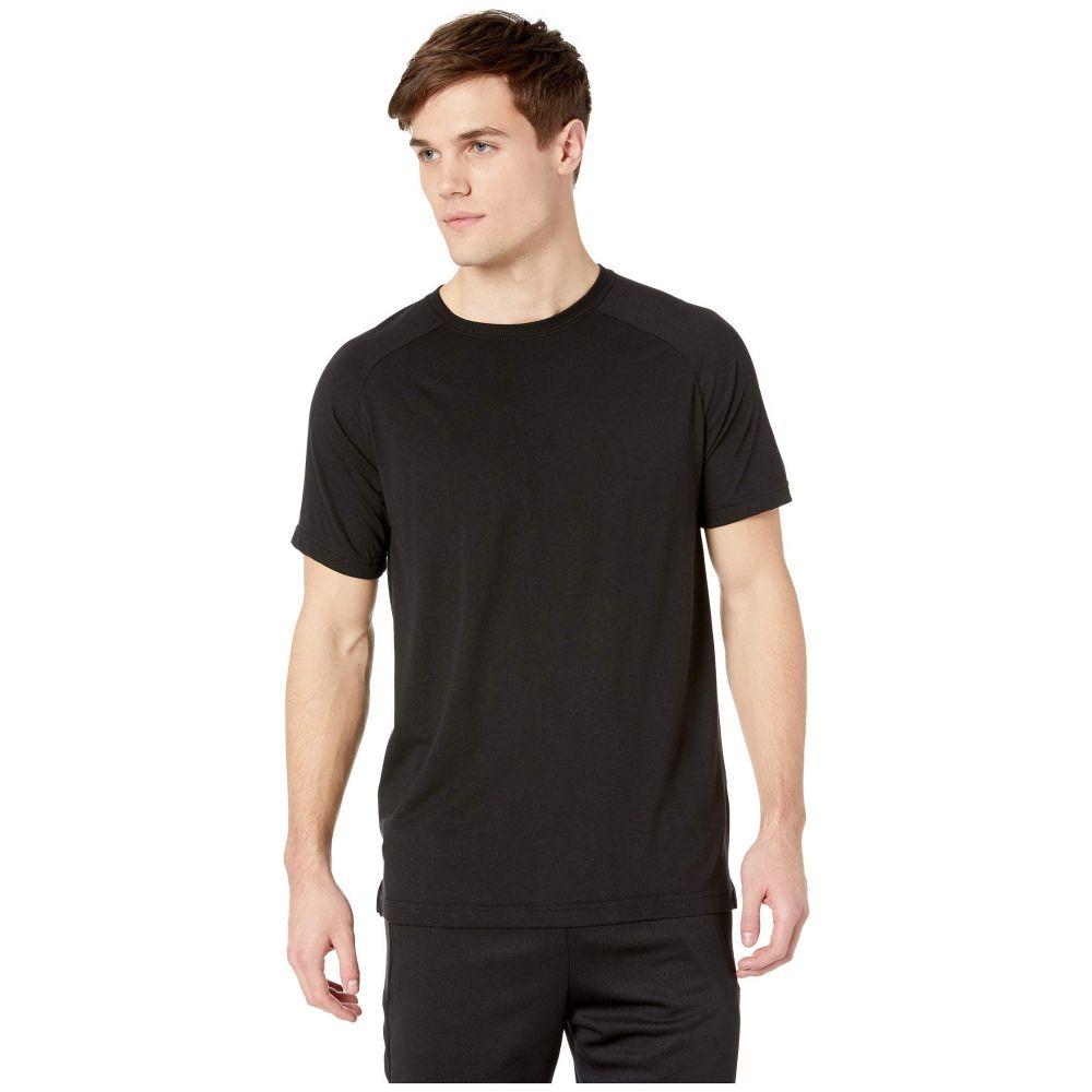 アロー ALO メンズ Tシャツ トップス【The Triumph Crew Neck Tee】Solid Black Tri-Blend