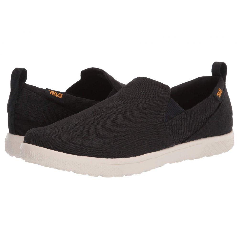テバ Teva メンズ スリッポン・フラット シューズ・靴【Voya Slip-On】Black