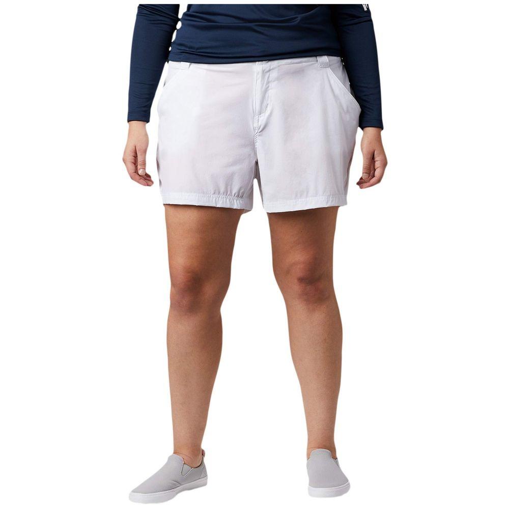 コロンビア Columbia レディース ショートパンツ 大きいサイズ ボトムス・パンツ【Plus Size Coral Point(TM) III Shorts】White