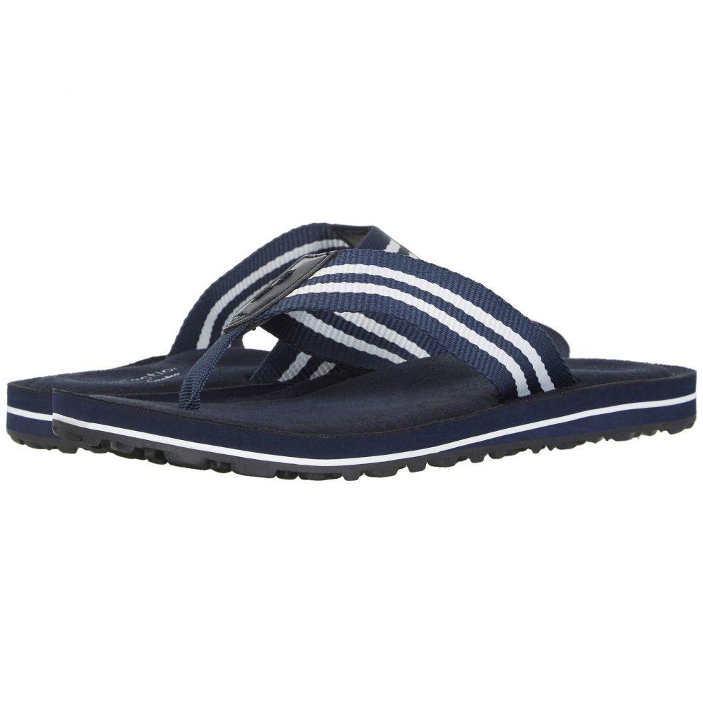 クラークス Clarks レディース ビーチサンダル シューズ・靴【Fenner Sunset】Navy Textile