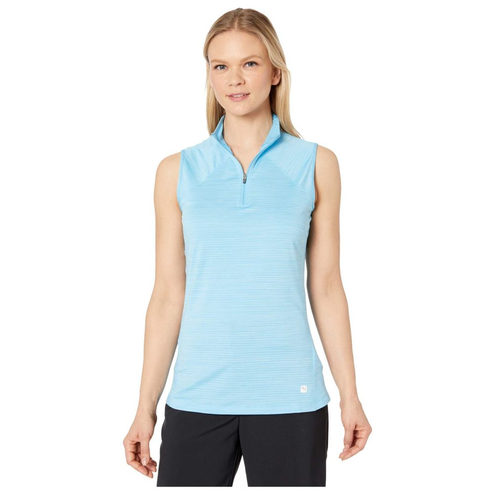 プーマ PUMA Golf レディース トップス 【Daily Mock Neck】Ethereal Blue Heather