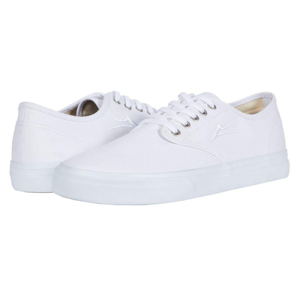 ラカイ Lakai メンズ スニーカー シューズ・靴【Oxford】White Canvas